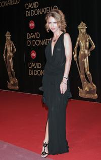 Yvonne Scio at the David di Donatello 2007 Italian Awards.