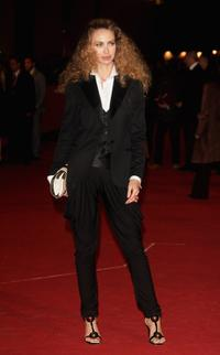 Yvonne Scio at the premiere of