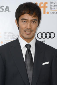 Hiroshi Abe at the premiere of