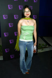 Keiko Agena at the WB Network's 2004 All Star Summer Party in California.