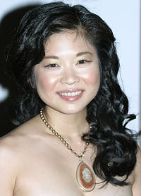 Keiko Agena at the Fifth Annual Hollywood Makeup Artist & Hairstylist Guild Awards in California.