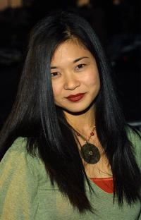 Keiko Agena at the WB Television Network's 2003 All Star Party in California.
