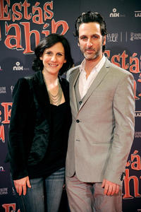 Malena Alterio and Ernesto Alterio at the premiere of