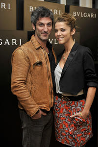 Ernesto Alterio and Juana Acosta at the new Bvlgari Spring/Summer 2011 Glasses Collection in Spain.
