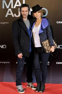 Ernesto Alterio and Juana Acosta at the premiere of
