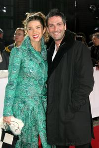 Juana Acosta and Ernesto Alterio at the European Film Awards 2005.