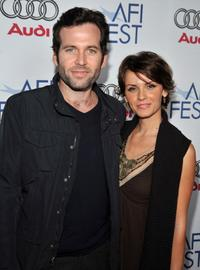 Eion Bailey and Sarah at the 2008 AFI FEST Tribute To Tilda Swinton.