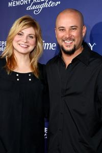 Colleen Fitzpatrick and Cris Judd at the premiere of