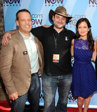 Dee Bradley Baker, Star Wars: The Clone Wars supervising directors Dave Filoni and Catherin Taber at the TV.com NOW Awards during Comic-Con 2010.