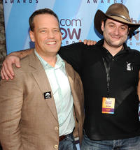 Dee Bradley Baker, Star Wars: The Clone Wars supervising director Dave Filoni at the TV.com NOW Awards during Comic-Con 2010.