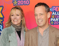 Wendy Schaal and Dee Bradley Baker at the FOX 2010 summer Television Critics Association all-star party in California.