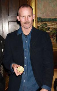 Matthew Barney at the National Arts Club in New York City.