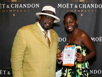 Cedric the Entertainer and daughter Tiara Kyles at the 2007 BET Awards after party.