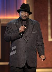 Cedric The Entertainer at the BET Honors.