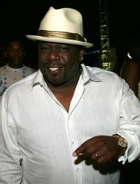 Cedric The Entertainer at the after party for
