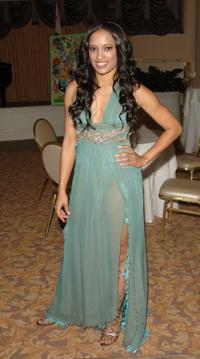 Melissa DeSousa at the reception for MMPAs 13th Annual Diversity Awards.