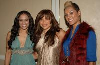 Melissa DeSousa, Tisha Campbell and Nikki Chu at the MMPA's 13th Annual Diversity Awards.