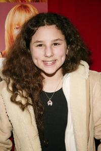Hallie Kate Eisenberg at the premiere of