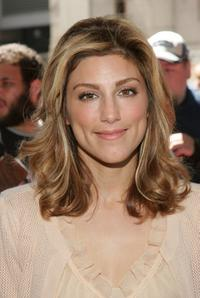 Jennifer Esposito at the WB Upfront.
