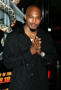 Sticky Fingaz at the premiere of