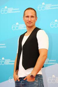 Benno Furmann at the 65th Venice Film Festival.