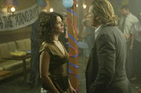 Lauren Graham and Jeff Bridges in