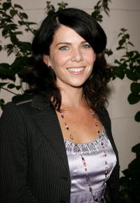 Actress Lauren Graham at the WB Network stars party in Hollywood.