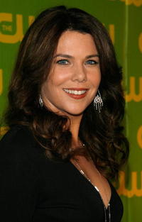 Actress Lauren Graham at the CW Launch Party in California.