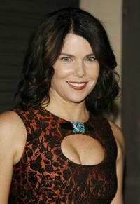 Actress Lauren Graham at the Carolina Herrera Boutique opening in L.A.