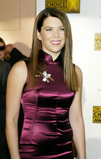 Actress Lauren Graham at the 9th Annual Critics' Choice Awards in Hollywood.