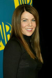 Actress Lauren Graham at the WB Networks 2004 All-Star Winter Party in Hollywood.