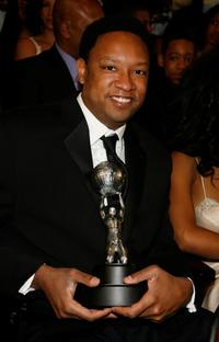Reggie Hayes at the 38th annual NAACP Image Awards.