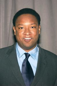 Reggie Hayes at the announcement of United Paramount Network's (UPN) 2002-2003 primetime schedule of series.