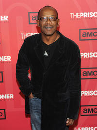Lennie James at the New York premiere of