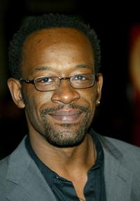 Lennie James at the Hollywood premiere of