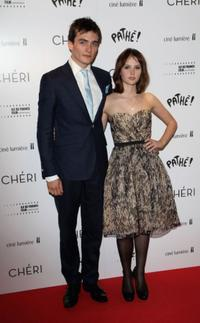 Rupert Friend and Felicity Jones at the UK premiere of
