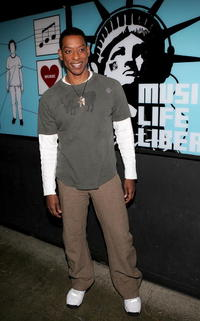 Orlando Jones at the MTV's Total Request Live.