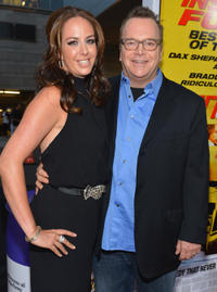 Tom Arnold and Guest at the California premiere of