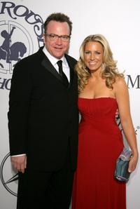 Tom Arnold and Shelby Roos at the 17th Mercedes-Benz Carousel of Hope Ball.