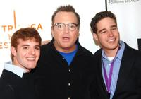 Tom Arnold, Steve Gersh and Daniel Engelhardt at the 2007 Tribeca Film Festival.