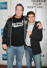Tom Arnold and Sean Astin at the 2007 Tribeca Film Festival.