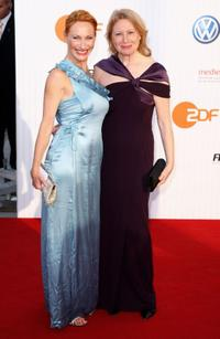 Andrea Sawatzki and Maren Kroymann at the German Film Awards 2009.