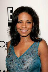 Sanaa Lathan at the Weinstein Co. Golden Globe after party.