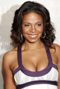 Sanaa Lathan at the Nina Ricci Fall 2006 Collection fashion show to benefit The Rape Foundation.