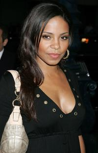 Sanaa Lathan at the premiere of