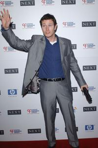 Nick Moran at the Cystic Fibrosis Trust Breathing Life Awards.