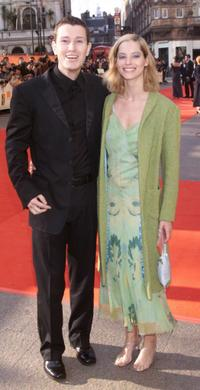 Nick Moran and his girlfriend at the BAFTA Awards.