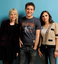 Adelaide Clemens, Trevor Morgan and Rachael Leigh Cook at the 2011 Sundance Film Festival.