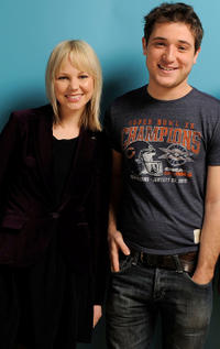 Adelaide Clemens and Trevor Morgan at the 2011 Sundance Film Festival.