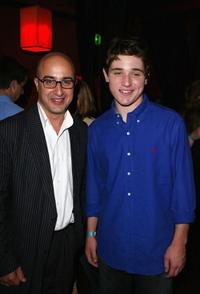 David Dinerstein and Trevor Morgan at the premiere after party of